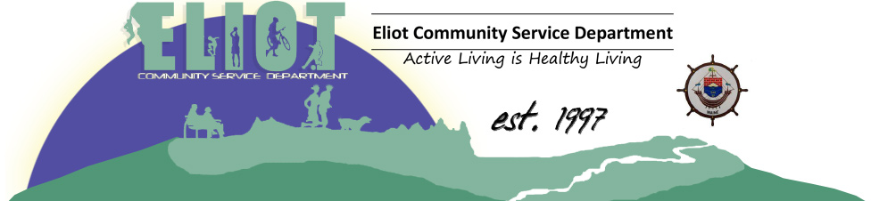 Eliot Community Services Department